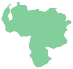 South America clipart venezuela