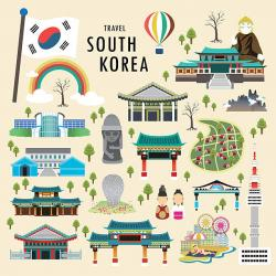 South Korea clipart