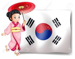 Korea clipart cute korean