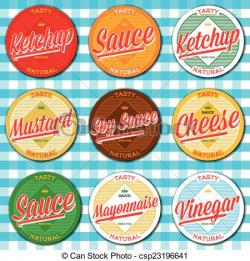 Soya Sauce clipart mayonnaise