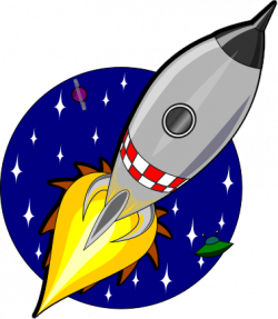 Rocket clipart space travel