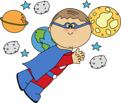 Planets clipart space travel
