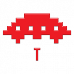 Space Invaders clipart classic