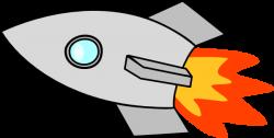 Rocket clipart spaceship