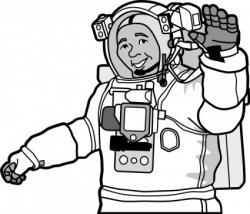 Spacesuit clipart astronaut suit