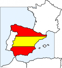 Spanish clipart spain map