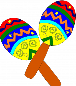 Instrument clipart spanish maraca