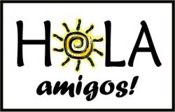Spain clipart spanish hola