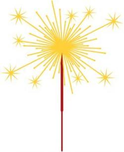 Sparklers clipart
