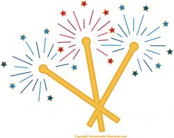 Fireworks clipart sparkler