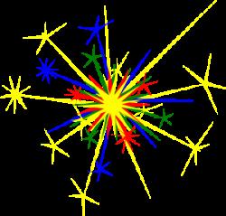 Festival clipart sparkler