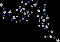 Glitter clipart blue sparkles
