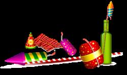 Sparklers clipart deepavali
