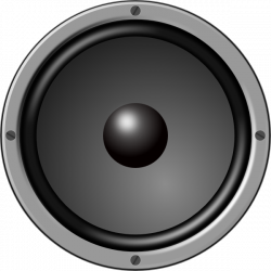 Speakers clipart bass