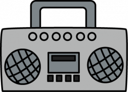 Speakers clipart boombox