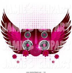 Speakers clipart disco