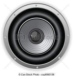 Speakers clipart dj speaker