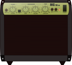 Speakers clipart guitar amplifier