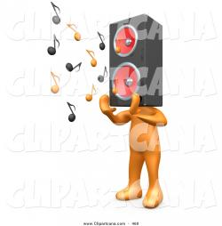 Speakers clipart person speaker