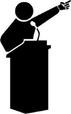 Motivational clipart public speaking