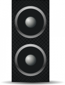 Speakers clipart subwoofer