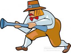 Pilgrim clipart hunting