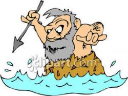 Caveman clipart hunting