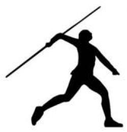 Spear clipart javelin
