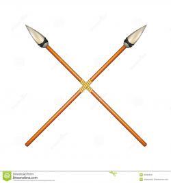 Spear clipart roman