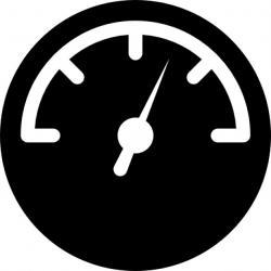 Speedometer clipart icon