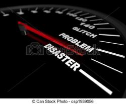 Speedometer clipart redline