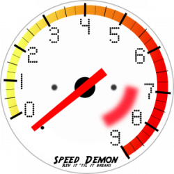 Speedometer clipart rpm gauge