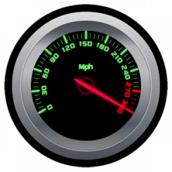 Speedometer clipart rpm meter
