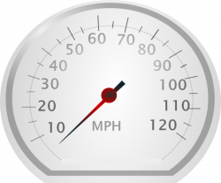 Speedometer clipart speed meter