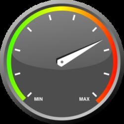 Speedometer clipart tachometer