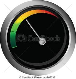 Speedometer clipart vector