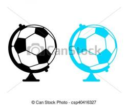 Sphere clipart soccer game