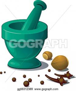 Herbs And Spices clipart mortar