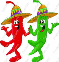 Vegetables clipart mexican chili