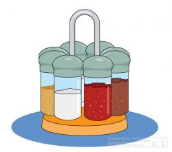 Herbs And Spices clipart spice rack
