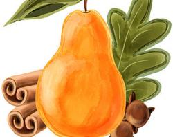 Papaya clipart perfect pear