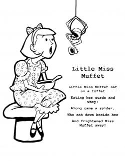 Spider clipart little miss muffet