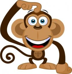 Spider Monkey clipart caricature