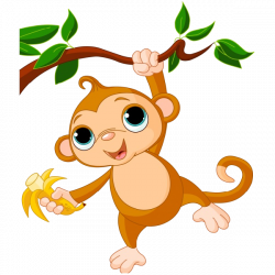 Upside Down clipart silly monkey
