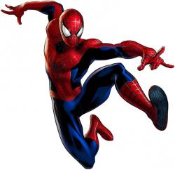 Spider-Man clipart animated