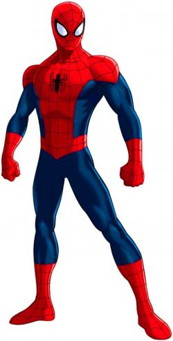 Spiderman clipart old school