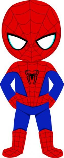 Spiderman clipart little
