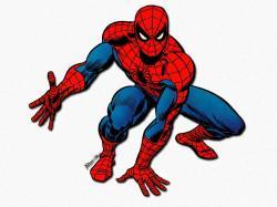 Spiderman clipart classic