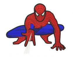 Spiderman clipart crawl