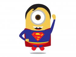 Superman clipart minion